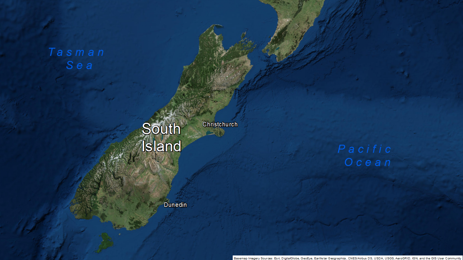Map of area: Enduring South Island image v2